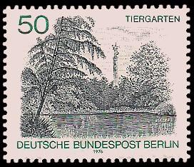 50 Pf Briefmarke: Berliner Landschaft