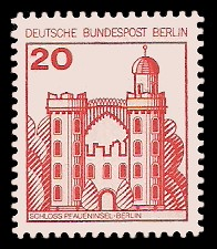 20 Pf Briefmarke: Burgen und Schlösser