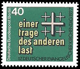 40 Pf Briefmarke: 17. Deutscher Evangelischer Kirchentag