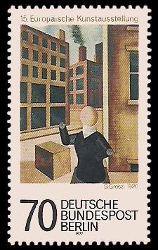 70 Pf Briefmarke: 15. Europäische Kunstausstellung
