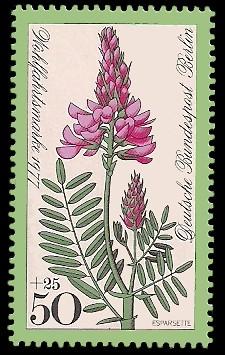 50 + 25 Pf Briefmarke: Wohlfahrtsmarke 1977, Wiesenblumen