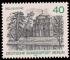 40 Pf Briefmarke: Berliner Ansichten