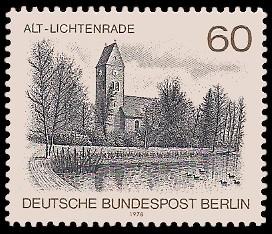 60 Pf Briefmarke: Berliner Ansichten