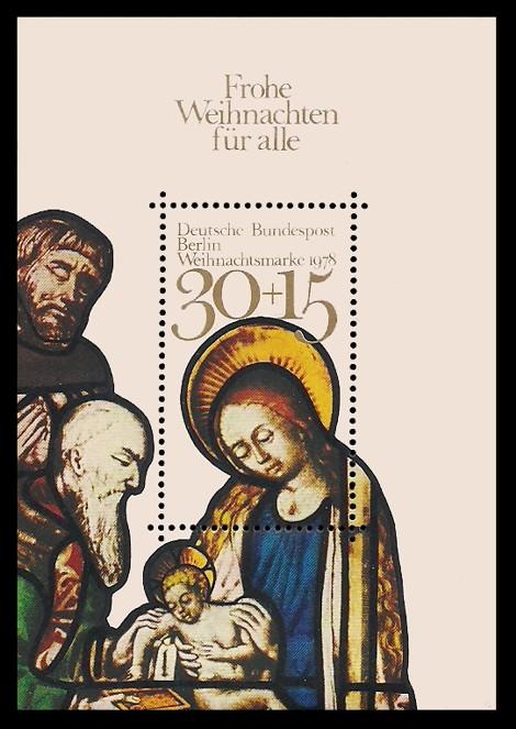Briefmarke: Weihnachtsblock 1978