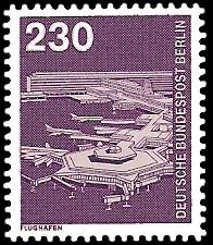 230 Pf Briefmarke: Industrie und Technik