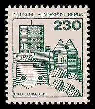 230 Pf Briefmarke: Burgen und Schlösser