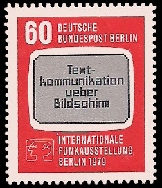 60 Pf Briefmarke: IFA Berlin 1979
