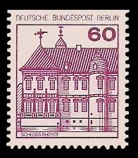 60 Pf Briefmarke: Burgen und Schlösser