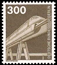 300 Pf Briefmarke: Industrie und Technik