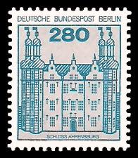 280 Pf Briefmarke: Burgen und Schlösser