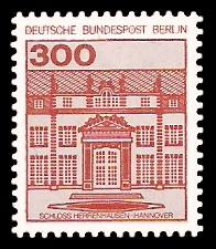 300 Pf Briefmarke: Burgen und Schlösser