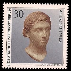 30 Pf Briefmarke: Berliner Museen