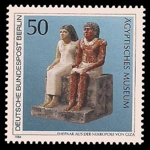 50 Pf Briefmarke: Berliner Museen