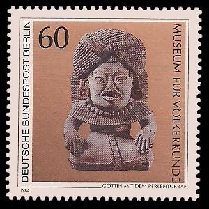 60 Pf Briefmarke: Berliner Museen