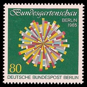 80 Pf Briefmarke: Bundesgartenschau