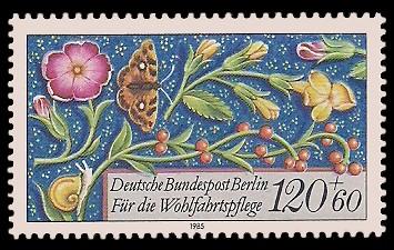 120 + 60 Pf Briefmarke: Wohlfahrtsmarke 1985, Miniaturen