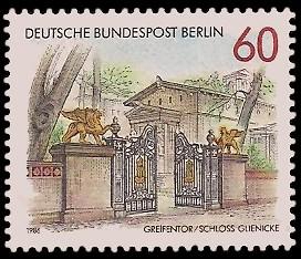 60 Pf Briefmarke: Tore in Berlin
