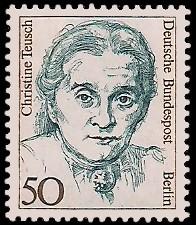 50 Pf Briefmarke: Frauen der deutschen Geschichte