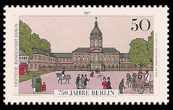 50 Pf Briefmarke: 750 Jahre Berlin