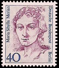 40 Pf Briefmarke: Frauen der deutschen Geschichte