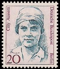 20 Pf Briefmarke: Frauen der deutschen Geschichte