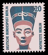 20 Pf Briefmarke: Serie Sehenswürdigkeiten