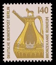 140 Pf Briefmarke: Serie Sehenswürdigkeiten