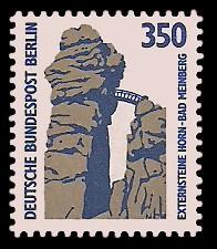 350 Pf Briefmarke: Serie Sehenswürdigkeiten