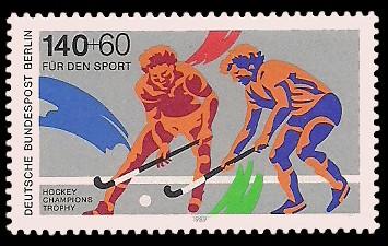 140 + 60 Pf Briefmarke: Für den Sport 1989