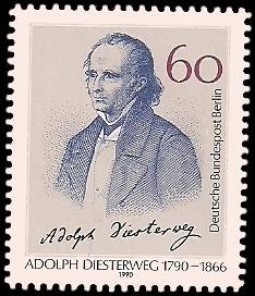 60 Pf Briefmarke: 200. Geburtstag Adolph Diesterweg