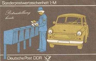 DDR Markenheftchen